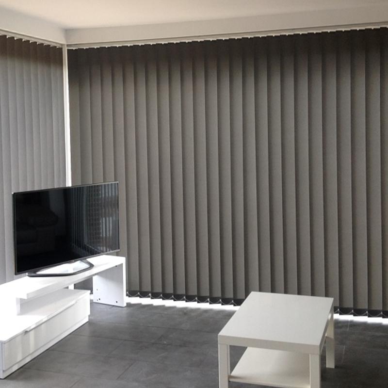 Cortina vertical opaca black out 90mm retalin cortinas - Cortinas de lamas verticales ...
