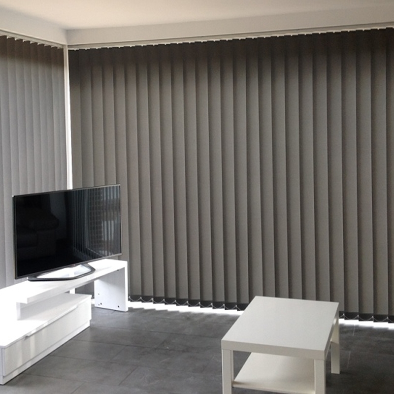 Cortina vertical opaca black out 127mm retalin - Cortinas lamas verticales ...