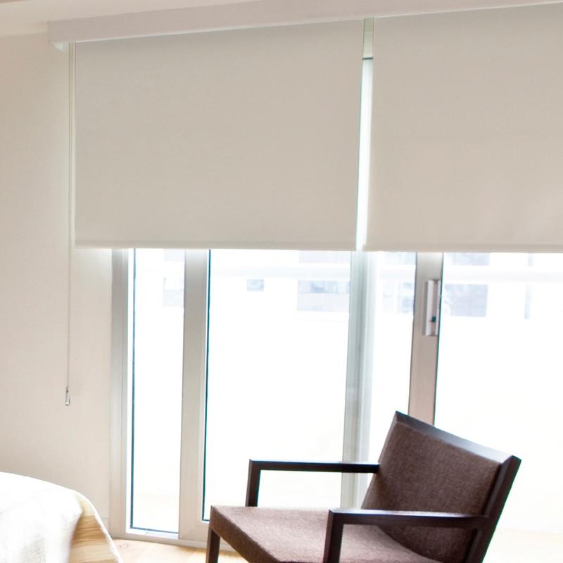 Estor opaco serea foscuit retalin cortinas y tejidos - Estor con cortina ...